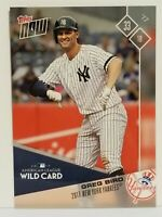 2017 Topps Now ALWC #PS-80 Greg Bird New York Yankees