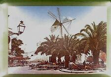 CPA Spain Ciudadela Windmill Moulin Vent Windmühle Animals Donkey Wiatrak w254