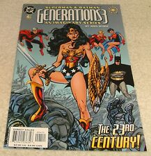 DC COMICS SUPERMAN & BATMAN GENERATIONS 3 # 4 VF+/NM OF 12 ELSEWORLD