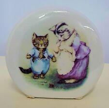 Beatrix Potter Tom Kitten Reutter Porcelain Money Box