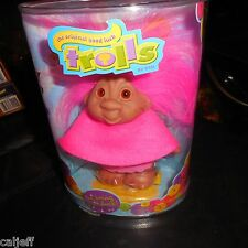 """The Original Dam 5"""" Mint Troll 2005 Excellent In Package Hot Pink In Color"""