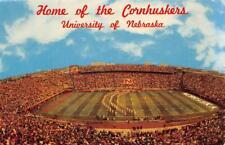 LINCOLN NE 1969 Memorial Stadium - Home of the Cornhuskers U of Nebraska GEM 565