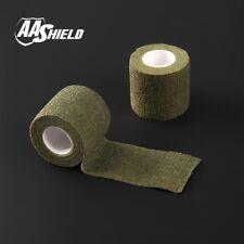 AA Shield Outdoor Camo Tape Camping Bandage Rifle Covert Adhesive /Gun OD