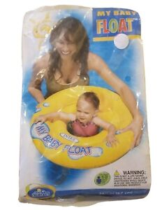 Intex My Baby Float Pool Summer Fun Toddler Age 1-2 Years 2009 #59574EP Yellow