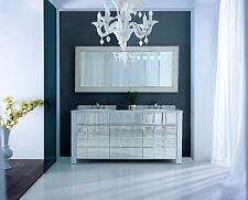 Doppelwaschtisch Designer Waschtisch Luxus Marmorplatte Waschtische badmöbel NEU