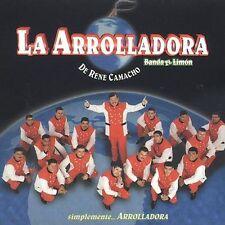Arrolladora Banda El Limon : Simplemente Arrolladora CD