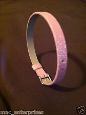 Toy Dog or Cat Pink Glitter Collar
