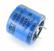 4pcs Nippon Chemi-Con 15000uF 16v  Radial Electrolytic Capacitor  30mm x 26mm