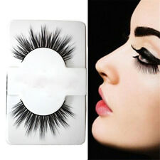 Soft Mink Natural Thick False Fake Eyelashes Eye Lashes Makeup Extension 1Pairs