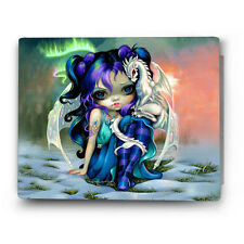 Frost Dragonling HD Metal Photo Prints/ Wall Prints by Jasmine Becket-Griffith