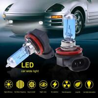 2Pcs 12V 55W H8 LED Headlight Car Auto Fog Lamp Vehicle Quartz Glass Bulb Light