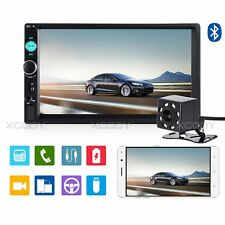 """7"""" Bluetooth Touch Screen 2DIN Autoradio Stereo MP5 MP3 Player HD Camera Vehicle"""