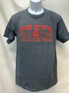 Neuf Ohio State Buckeyes Hommes Taille M Gris J.America T-Shirt