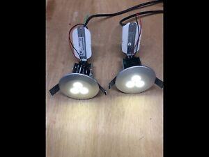 LED Ceiling Mounted Spotlights 9watt x 2