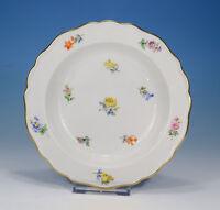"""Meissen """" Scattered Flowers """" Cereal Salad Bowl 18 CM"""