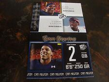 2011 Press Pass Football---Cam Newton---Lot Of 2---#6--#95