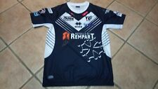 *RARE*  Maillot PRO TOULOUSE OLYMPIQUE XIII Rugby à 13/Rugby League. Errea XL.