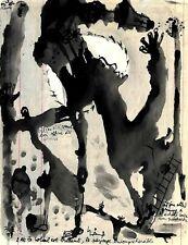ART BRUT, ART OUTSIDER : Marc GIRARD, oeuvre originale.