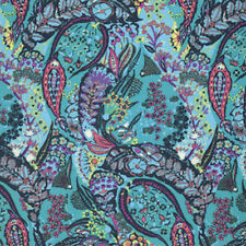 Amy Butler Glow Collection Jolie Fabric in Azure PWAB127 100% Cotton