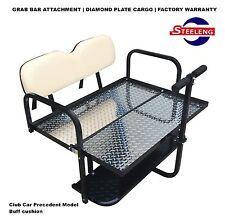 BUFF Club Car PRECEDENT Rear Flip Seat for All Years CC Precedent Golf Cart