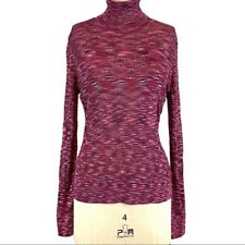 NEW Missoni for Target Size M Pink Space Dye Turtleneck Sweater