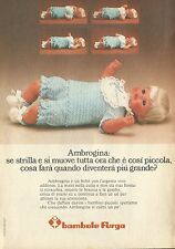 X4717 AMBROGINA - Bambole Furga - Pubblicità 1975 - Advertising