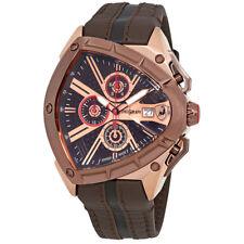 Lamborghini Spyder Brown Dial Mens Chronograph Watch 9004