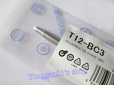 T12-BC3 Replace Soldering Solder Iron Tip Handle For FX-9501 Hakko PCB Repair