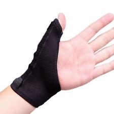 Black Cloth Medical Thumb Wrist Stabilising Support Splint Brace Hand Sprain UK