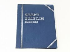 Whitman GB Florins No Dates Coin Folder with 22 Coins 1947-67 Free UK P&P