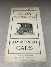 1905-06 Knox Automobile Company Sales Brochure