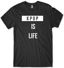 KPOP Is Life Mens Funny Unisex T-Shirt