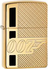 Zippo Lighter James Bond Brass 08858