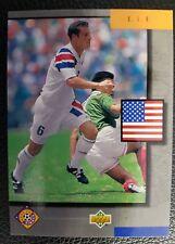 Upper Deck USA Fußball WM 94 Nr. UD11 Trading Card