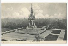 London - Kensington Gardens, The Albert Memorial - 1900's Postcard