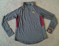 Nwt Colosseum Minnesota Gophers Women's Half Zip Athletic Shirt - Size Xl