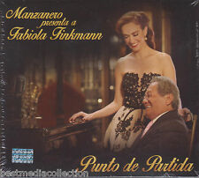 SEALED Manzanero Presenta A Fabiola Finkmann CD NEW Punto De Partida NEW
