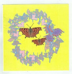 PK OF 20 {COMMA BUTTERFLIES} WRITING PAPER WITH NO ENVELOPES FREE POSTAGE