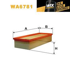 1x Wix Air Filter WA6781 - Eqv to Fram CA9711