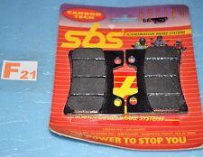 2 plaquettes de frein Avant SBS Yamaha  FZR 600 R 91/95 FZR 1000 R EX-UP 91/93