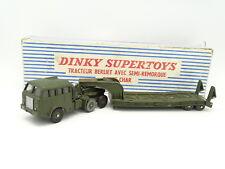 Dinky Toys France Militaire 1/43 - Berliet avec Semi Remorque Porte Char 890