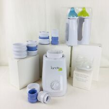Kiinde Kozii Breast Milk Bottle Warmer Kit Bottles, Connectors & Nipple Piece +