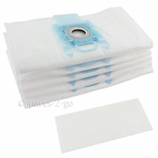 5 x Vacuum Cleaner G Type Cloth Dust Bags & Filter For Siemens Hoover Bag