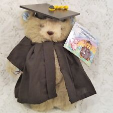 "Graduation Graduate Teddy Bear Plush Hugglesbie Gibson Greetings 7"" Cap Gown"