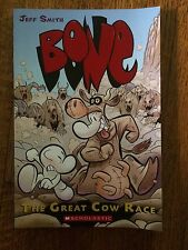 Bone. The Great Cow Race. By Jeff Smith. Great Condition.