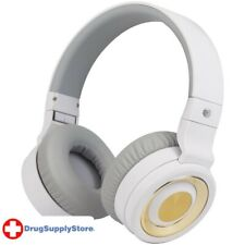 PE PBH20 Stereo Over-Ear Headphones with Bluetooth(R) (White)