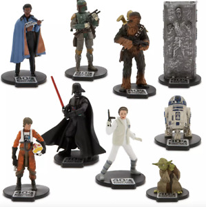 DISNEY Star Wars The Empire Strikes Back Deluxe 9x Figurine Playset