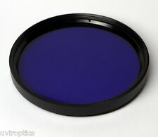 Schott BG3  30mm x 2mm thick Dual Bandpass UV IR Infrared Ultraviolet Filter