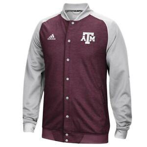 Texas A&M Aggies NCAA Adidas Men's Maroon Modern Varsity Down Anthem Jacket