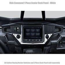 CNC Billet Aluminum Dash Panel White for Polaris RZR XP1000 Ride Command UTV